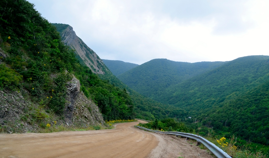 Road to Meat Cove, Nova Scotia