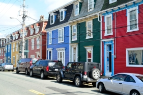I like taking images that capture the personalities of places I visit - like these colorful houses that define St. Johns Newfoundland..