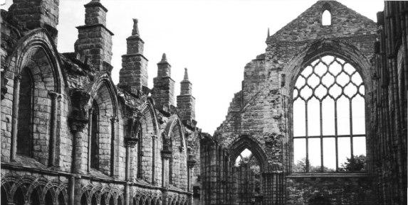 Chapel at Holyrood, Edenburgh, Scotland