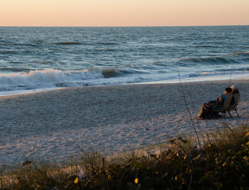Last Light on the beach.