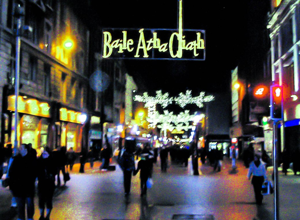 City Road - Christmas in Dublin