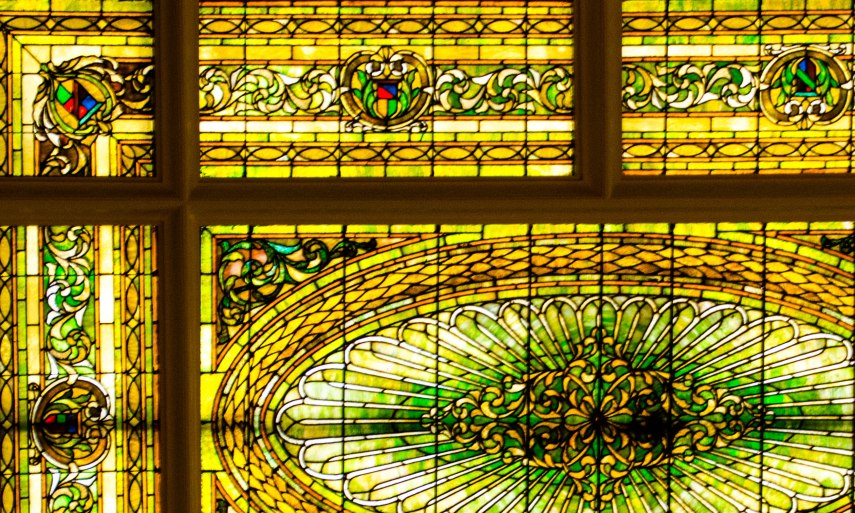 Ceiling Stain Glass