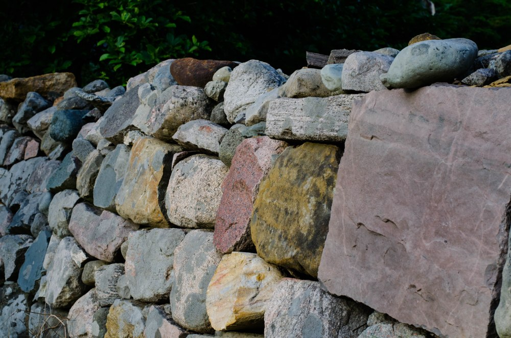 These stones were cut and fitted together.