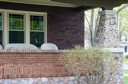 Escanaba front porch.
