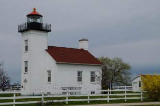 Escanaba light house.