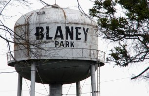 Blaney Park is a symbol of U.P. resilience. Was as a logging company town from 1902 until logging boom was over in 1926. It was then turned into a recreational resort for fishing, hunting, hiking and riding. It was for the wealthy, building the first heated swimming pool in the midwest. The park thrived until the 1950's and we remember seeing it as a deteriorating but intriguing resort.