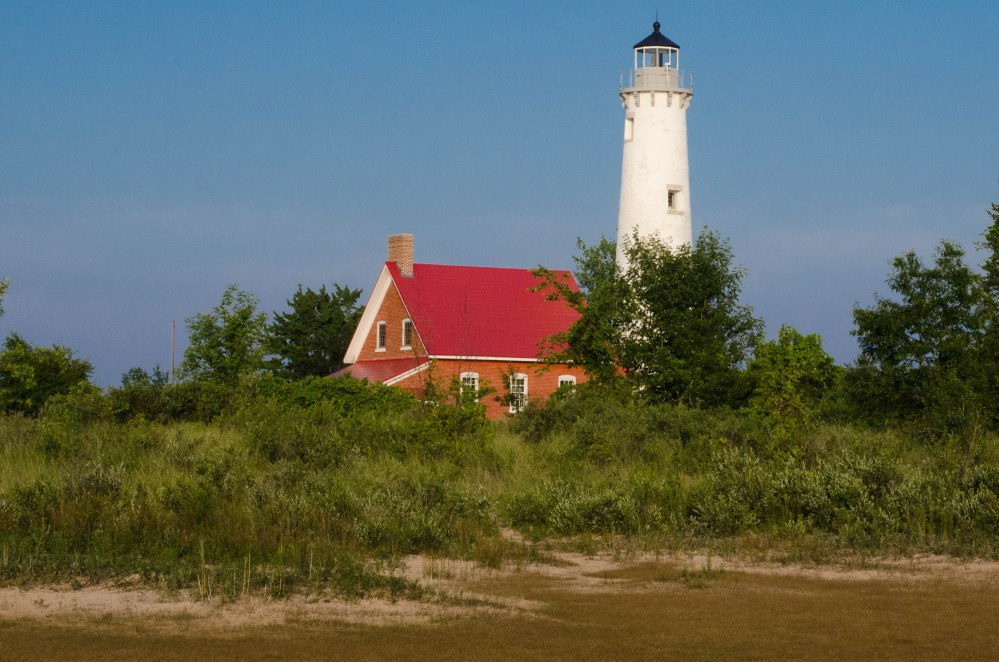 Tawas Point Lighthouse, Lake Huron