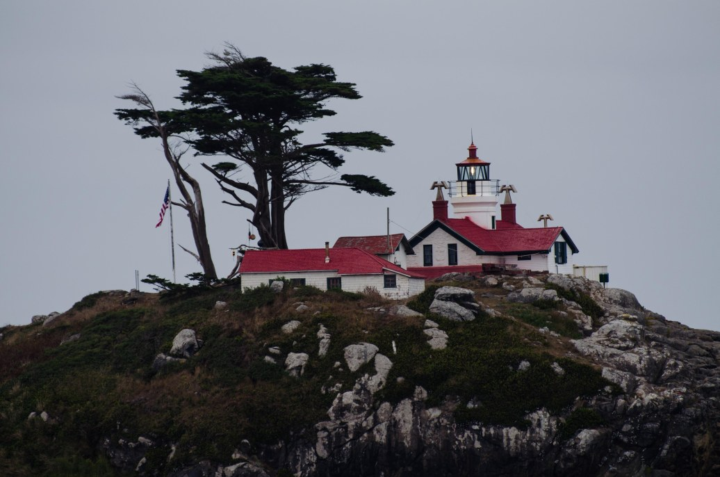 Battery Point Lighthouse - tours at low tide.
