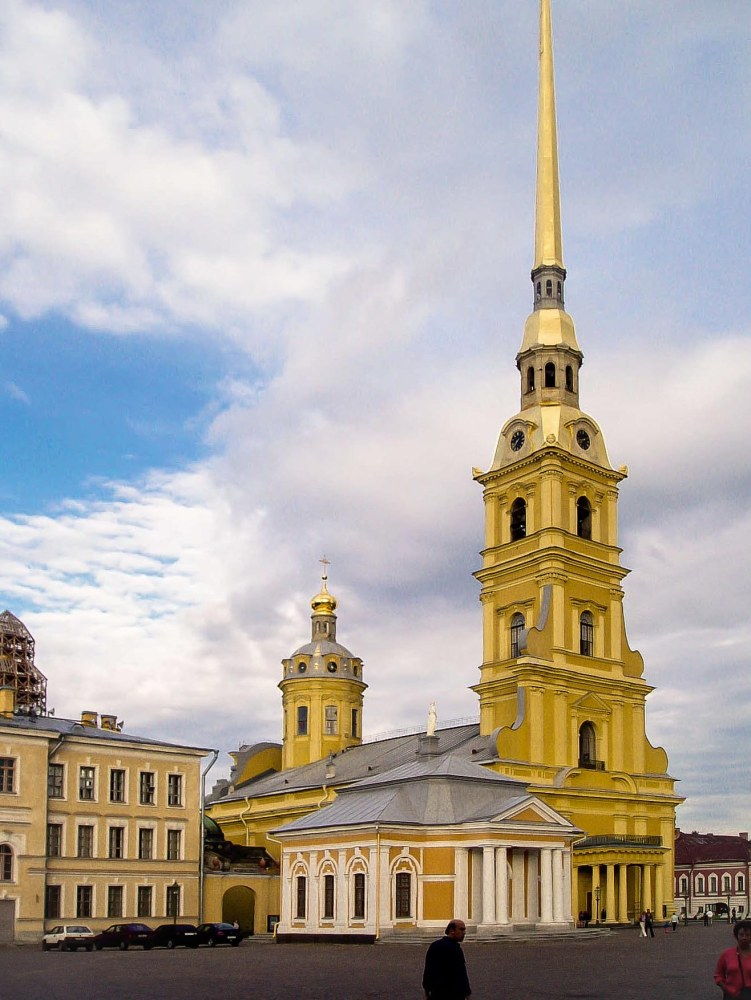 Chapel, Peter & Paul Fortress, St. Petersburg, Russia
