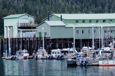One of the fish canneries.