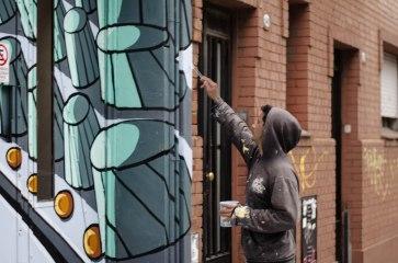 Mural painter.